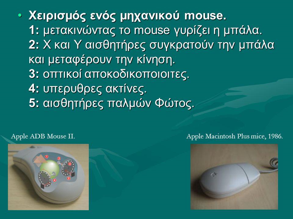 Χειρισμός ενός μηχανικού mouse