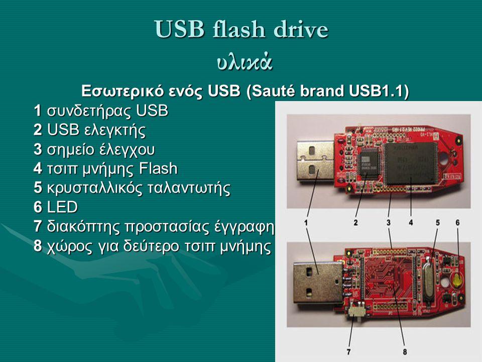 Εσωτερικό ενός USB (Sauté brand USB1.1)