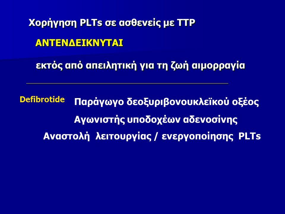 Αναστολή λειτουργίας / ενεργοποίησης PLTs