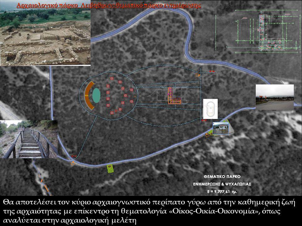 Αρχαιολογικό πάρκο Λειβήθρων: θεματικό πάρκο ενημέρωσης
