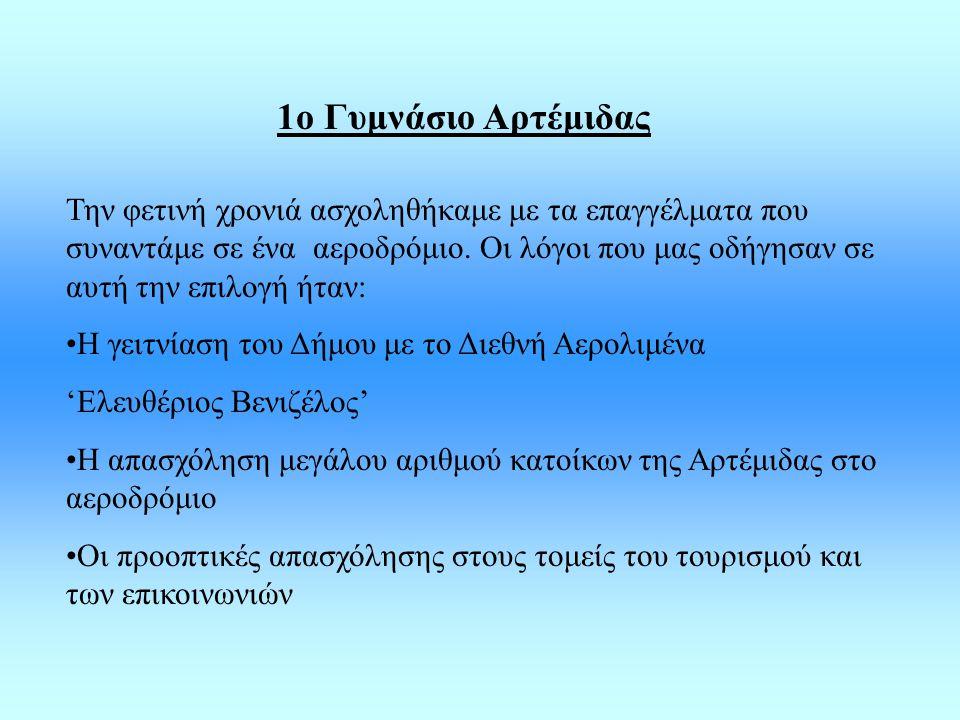 1ο Γυμνάσιο Αρτέμιδας