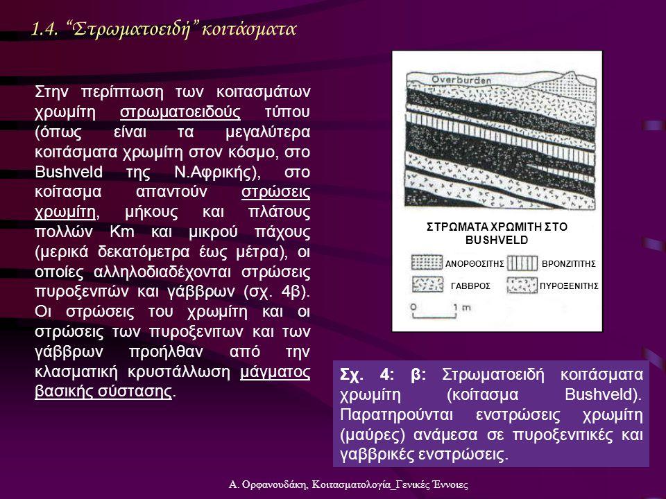 ΣΤΡΩΜΑΤΑ ΧΡΩΜΙΤΗ ΣΤΟ BUSHVELD