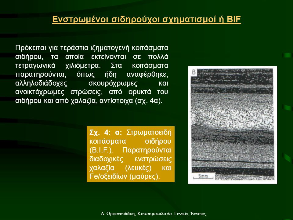 Ενστρωμένοι σιδηρούχοι σχηματισμοί ή BIF