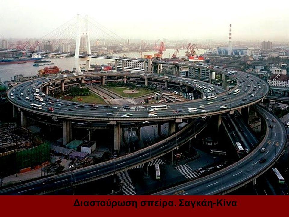 Διασταύρωση σπείρα. Σαγκάη-Κίνα