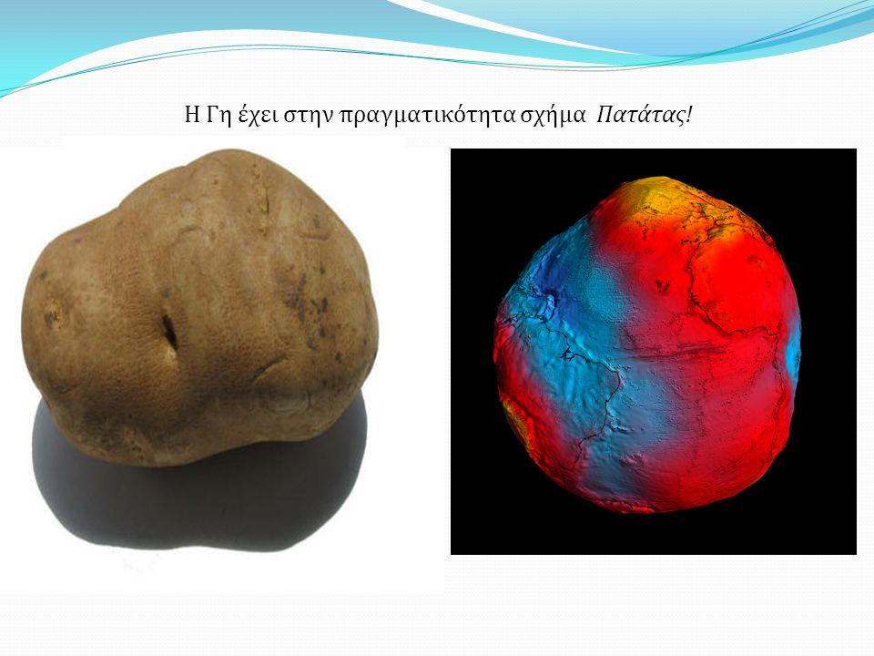 Η Γη έχει στην πραγματικότητα σχήμα Πατάτας!