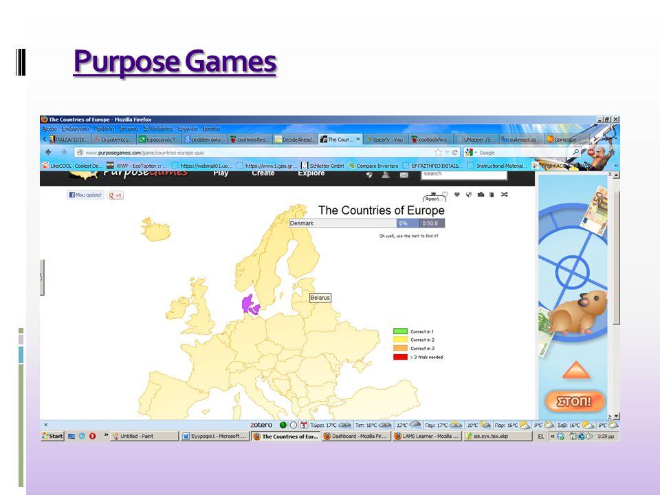 Purpose Games