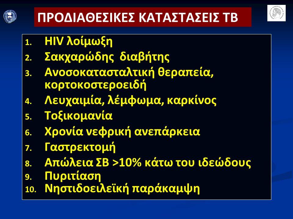 ΠΡΟΔΙΑΘΕΣΙΚΕΣ ΚΑΤΑΣΤΑΣΕΙΣ ΤΒ