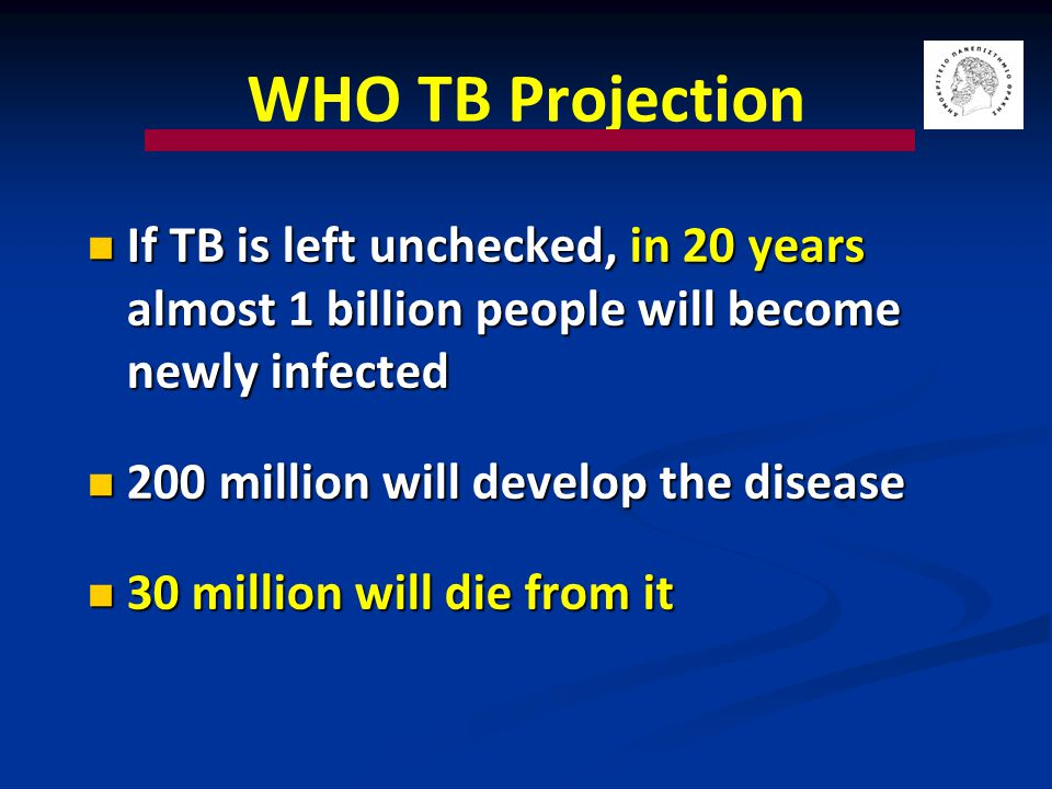 Interim Caribbean Guidelines for the Prevention, Treatment, Care, and Control of Tuberculosis