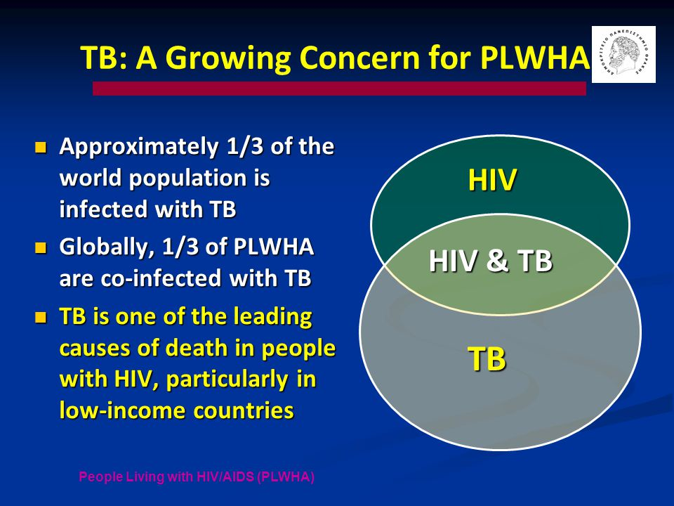 TB: A Growing Concern for PLWHA