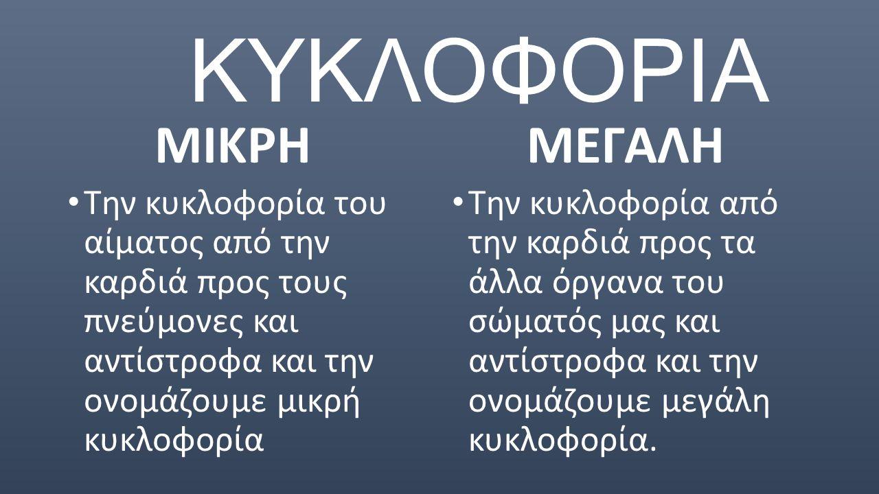 ΚΥΚΛΟΦΟΡΙΑ ΜΙΚΡΗ ΜΕΓΑΛΗ