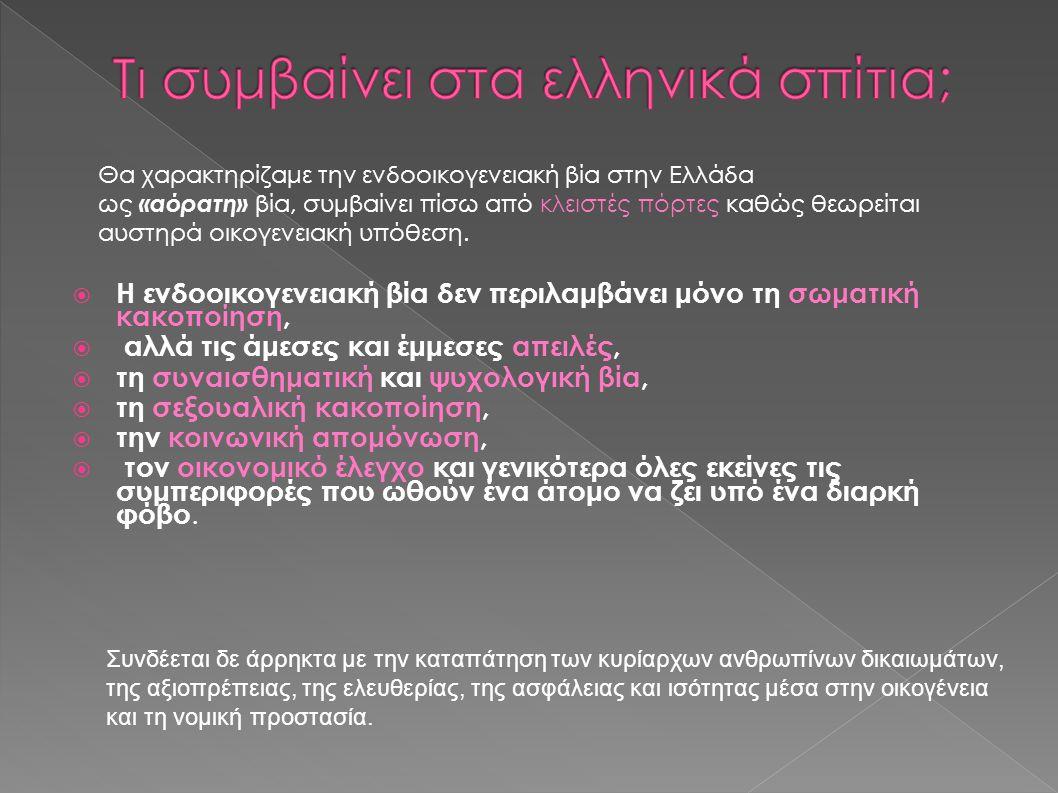 Τι συμβαίνει στα ελληνικά σπίτια;