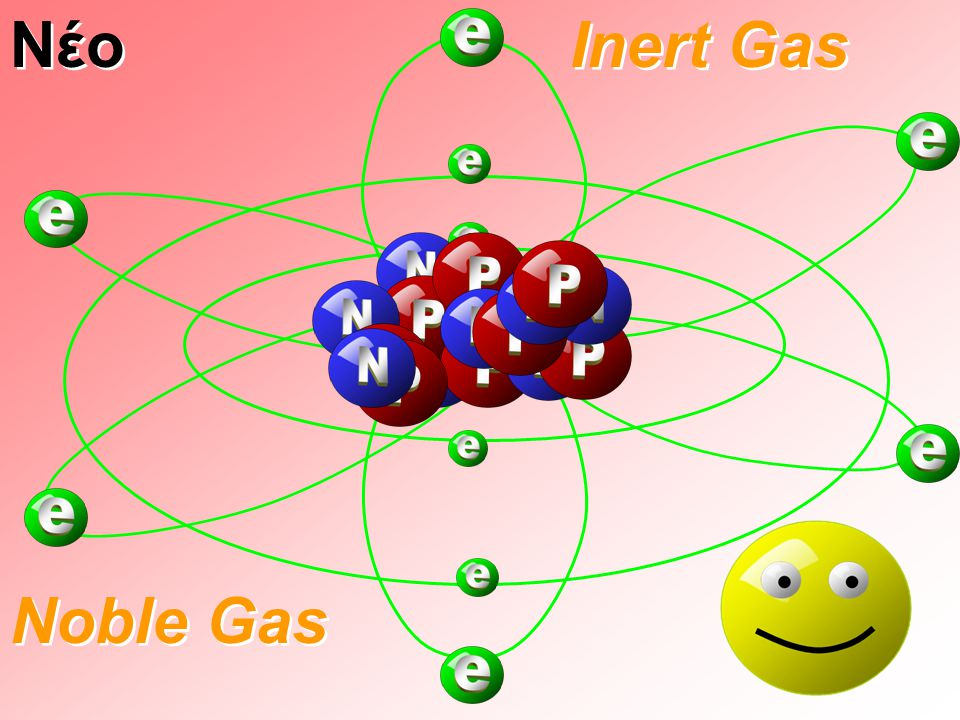 Νέο Inert Gas Noble Gas 29
