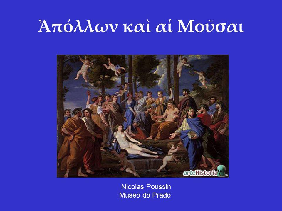 Ἀπόλλων καὶ αἱ Μοῦσαι Nicolas Poussin Museo do Prado