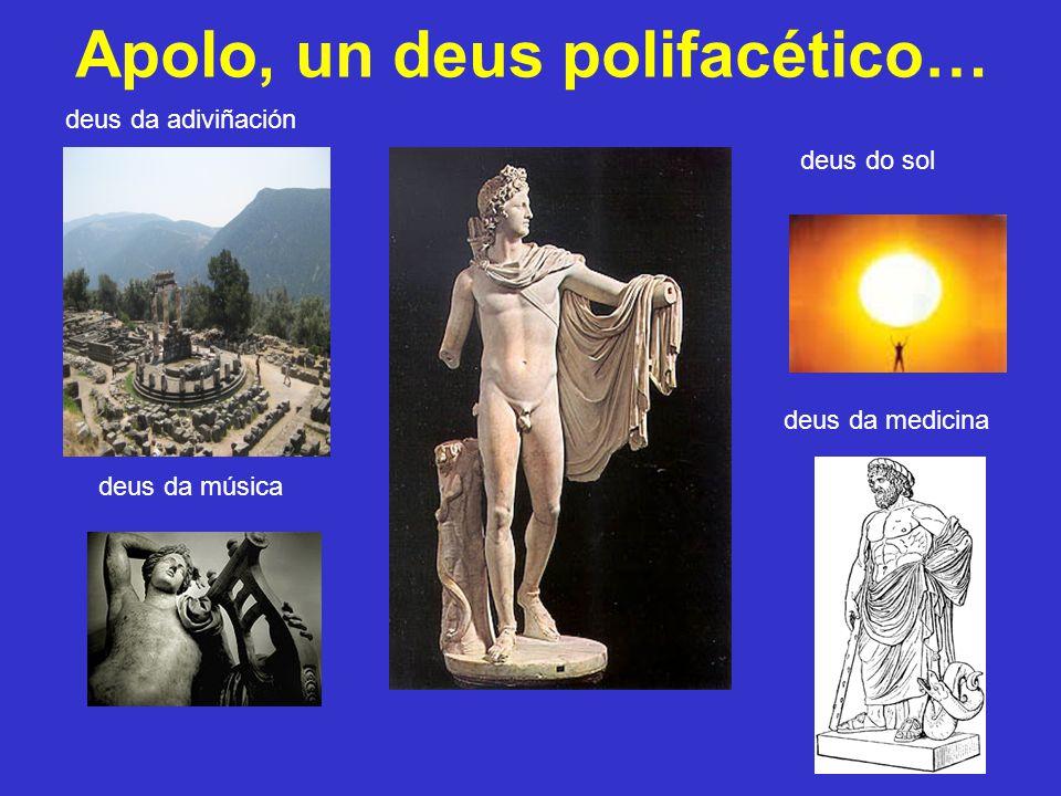 Apolo, un deus polifacético…