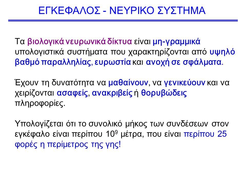 ΕΓΚΕΦΑΛΟΣ - ΝΕΥΡΙΚΟ ΣΥΣΤΗΜΑ