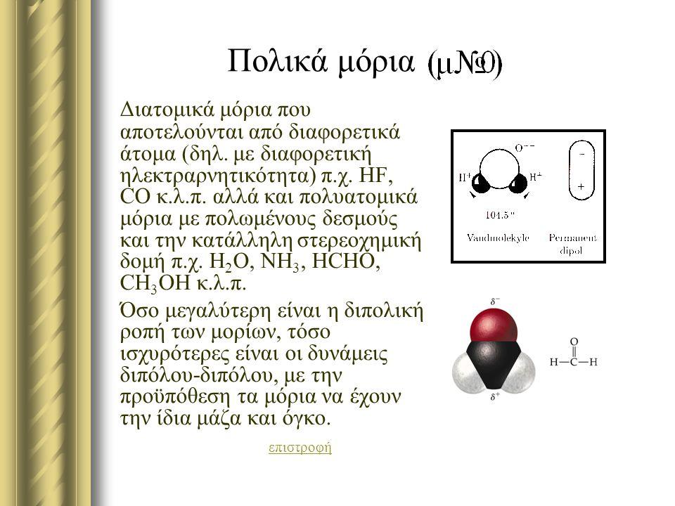 Πολικά μόρια