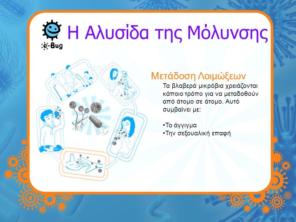 Η Αλυσίδα της Μόλυνσης Μετάδοση Λοιμώξεων
