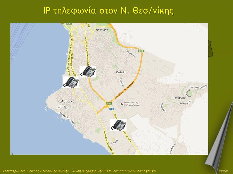 IP τηλεφωνία στον Ν. Θεσ/νίκης