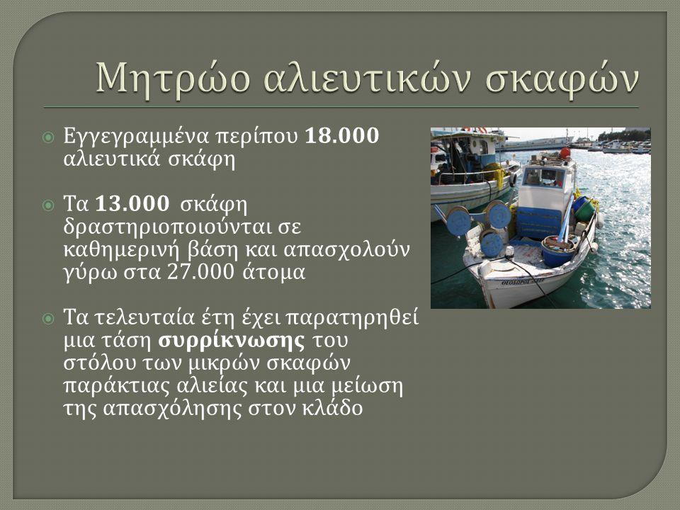 Μητρώο αλιευτικών σκαφών
