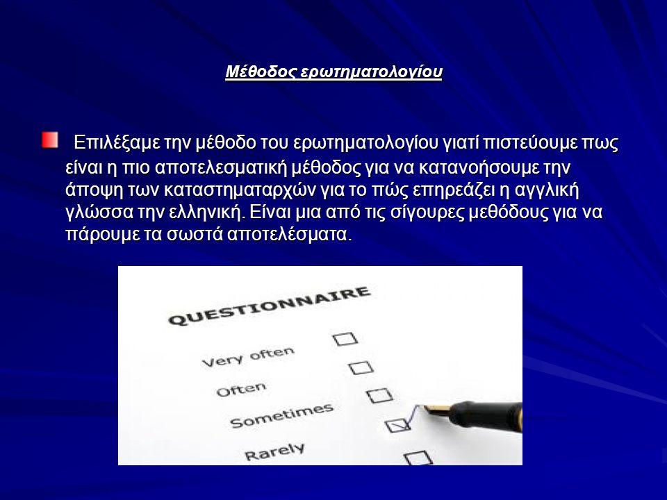 Μέθοδος ερωτηματολογίου