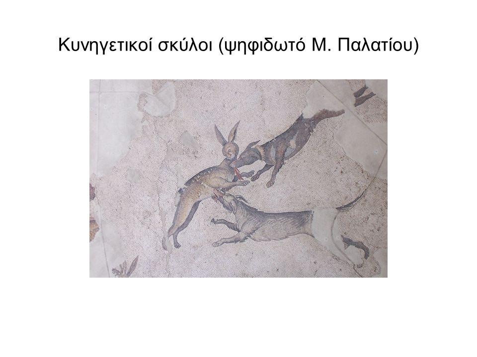 Κυνηγετικοί σκύλοι (ψηφιδωτό Μ. Παλατίου)