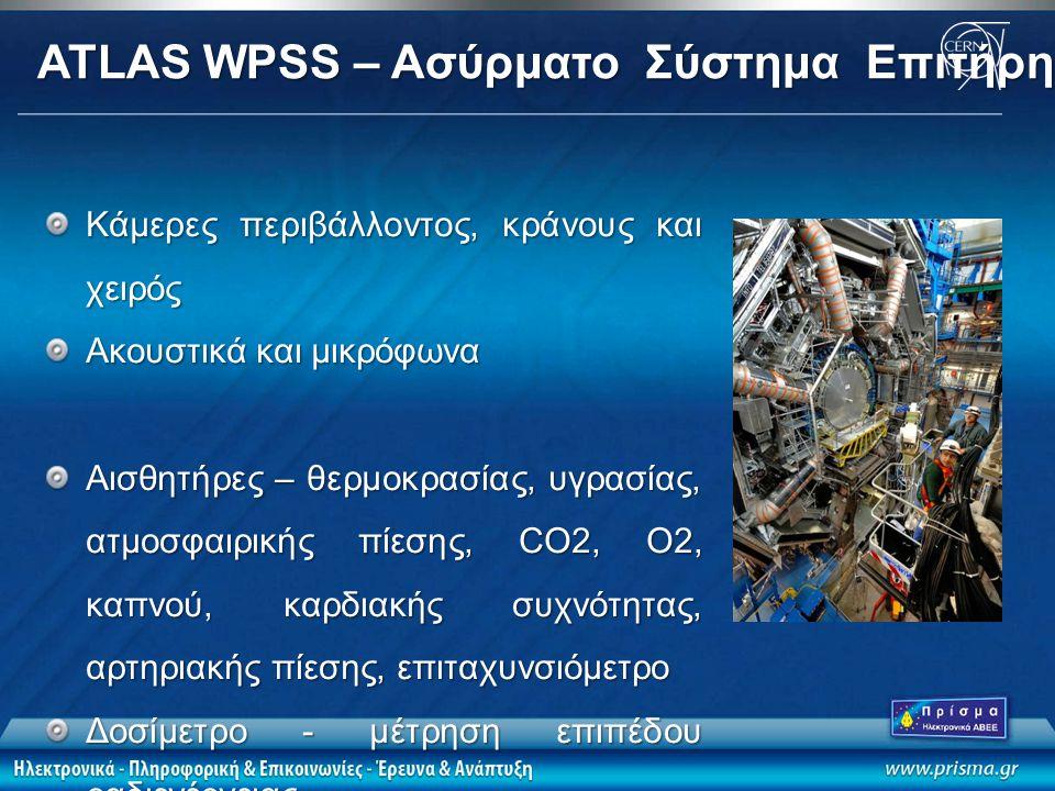 ATLAS WPSS – Ασύρματο Σύστημα Επιτήρησης