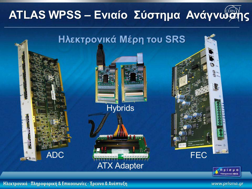 Ηλεκτρονικά Μέρη του SRS