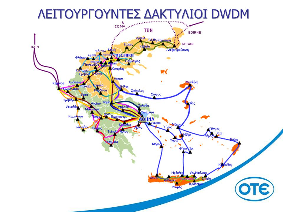 ΛΕΙΤΟΥΡΓΟΥΝΤΕΣ ΔΑΚΤΥΛΙΟΙ DWDM