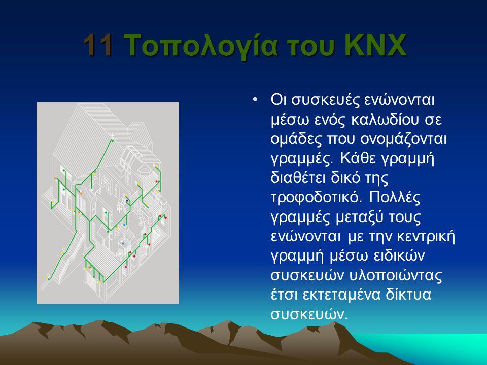 11 Τοπολογία του KNX