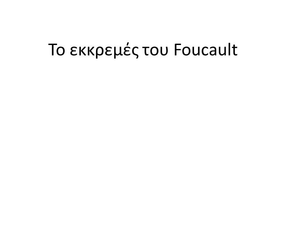 Το εκκρεμές του Foucault