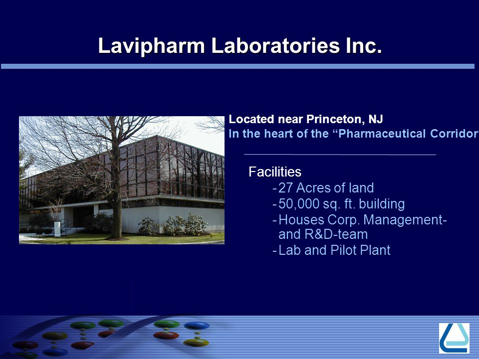 Lavipharm Laboratories Inc.
