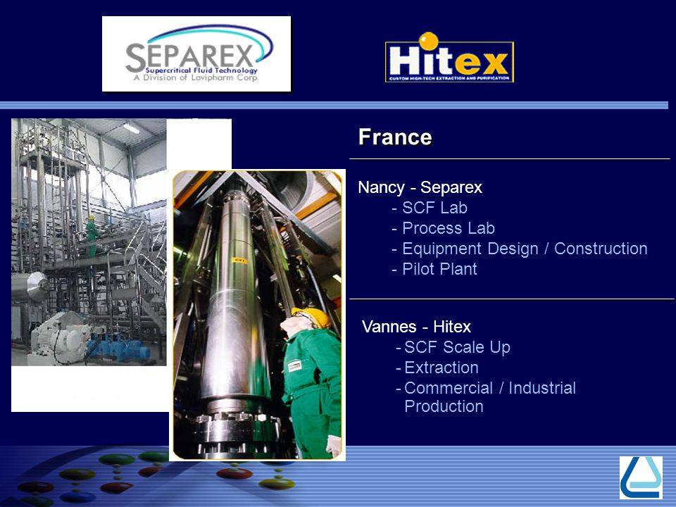 France Nancy - Separex SCF Lab Process Lab