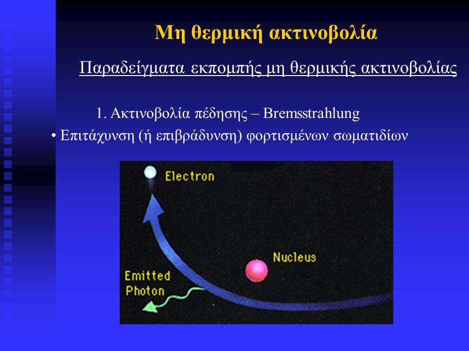 Μη θερμική ακτινοβολία