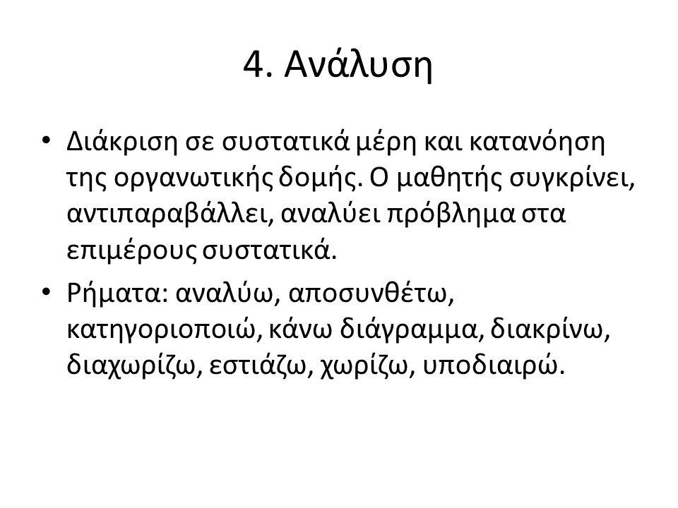 4. Ανάλυση