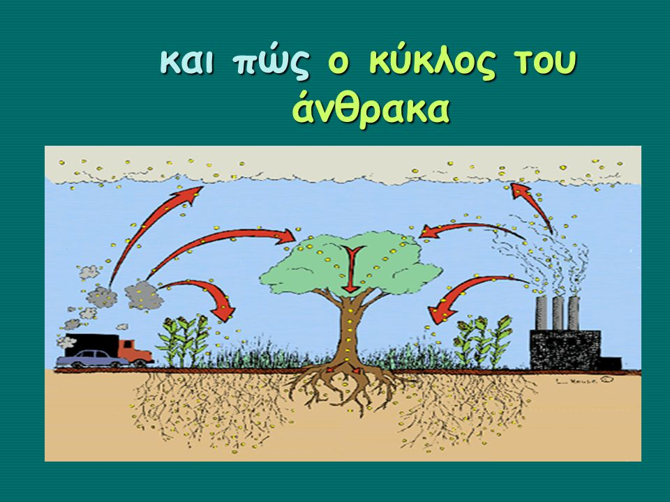 και πώς ο κύκλος του άνθρακα