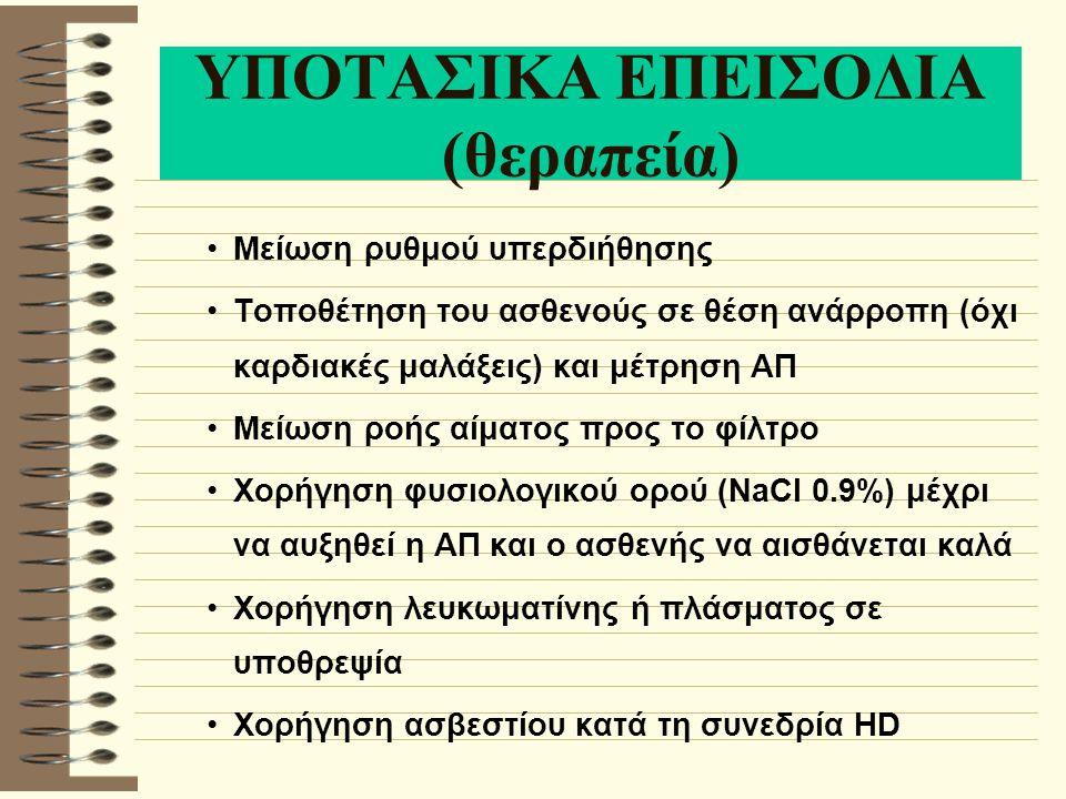 ΥΠΟΤΑΣΙΚΑ ΕΠΕΙΣΟΔΙΑ (θεραπεία)