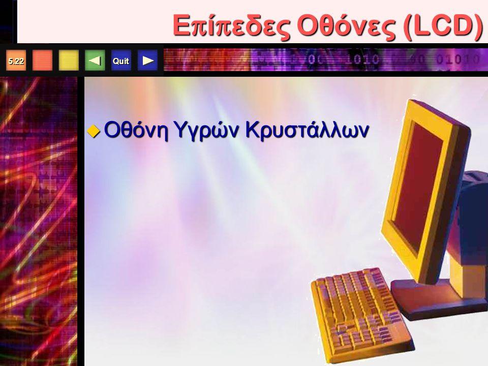 Επίπεδες Οθόνες (LCD) Οθόνη Υγρών Κρυστάλλων
