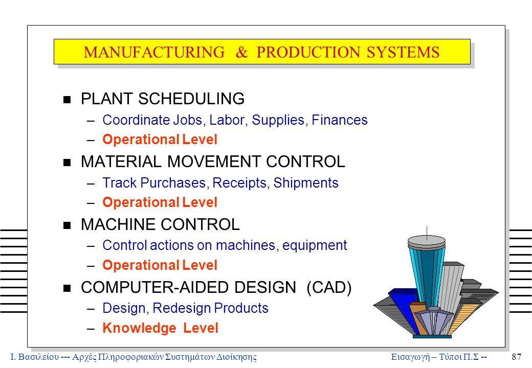 Πληροφοριακά Συστήματα Διοίκησης