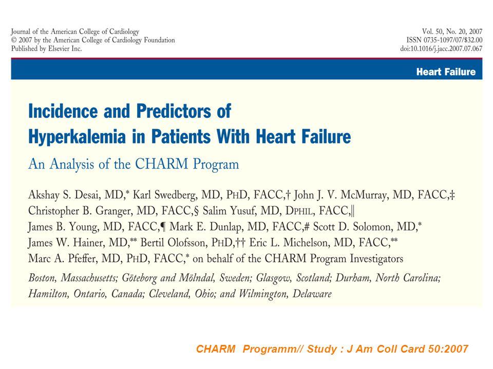 CHARM Programm// Study : J Am Coll Card 50:2007