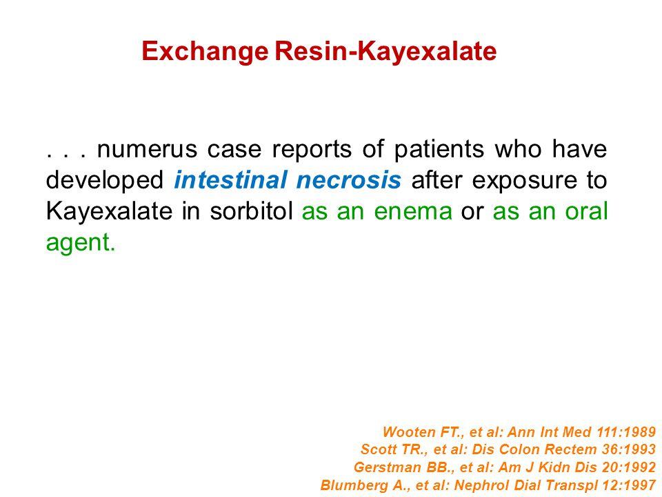Exchange Resin-Kayexalate