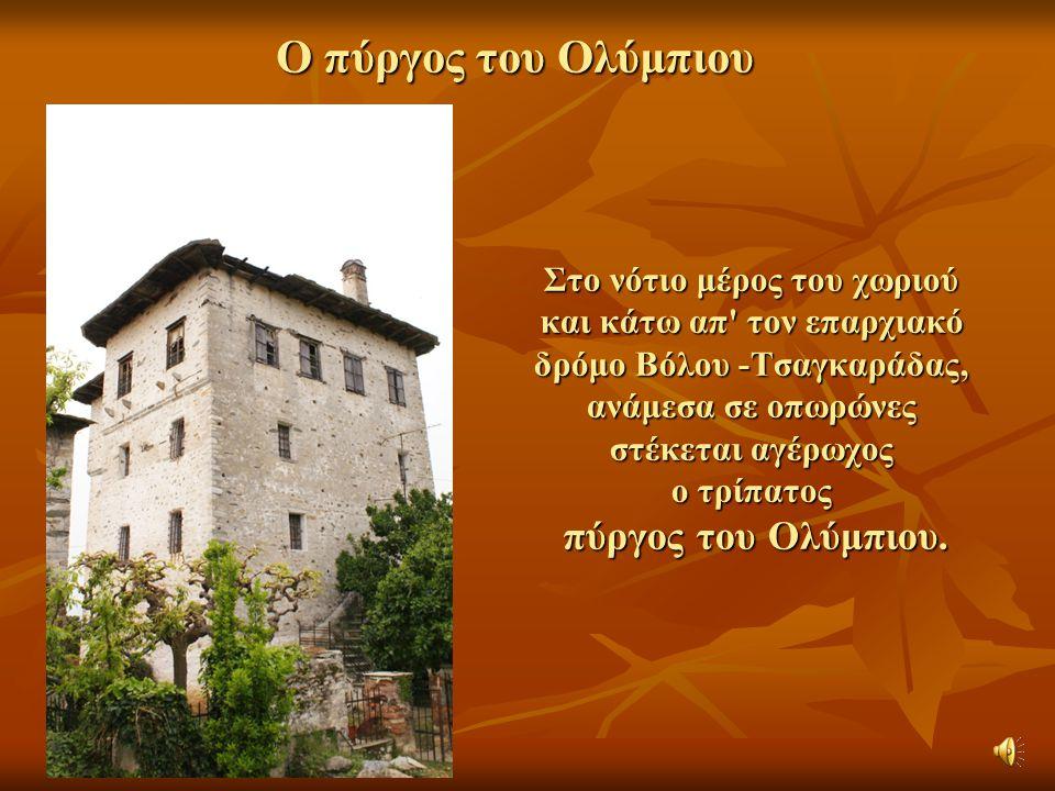 O πύργος του Ολύμπιου