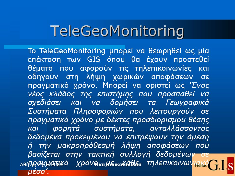 TeleGeoMonitoring
