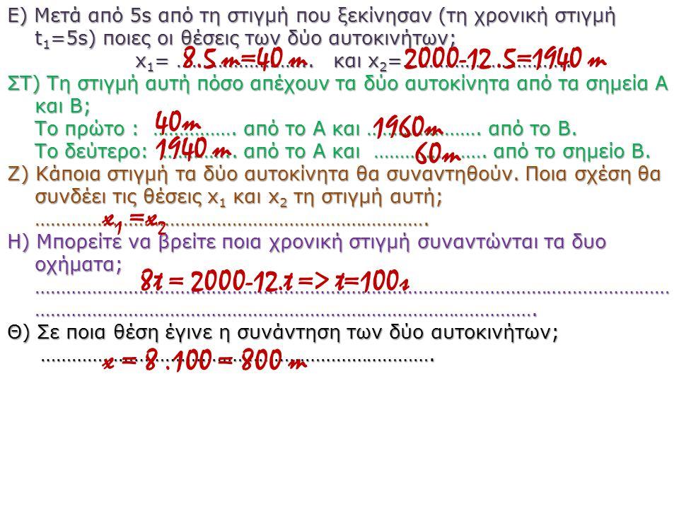 x1= …………………….. και x2=…………………………..