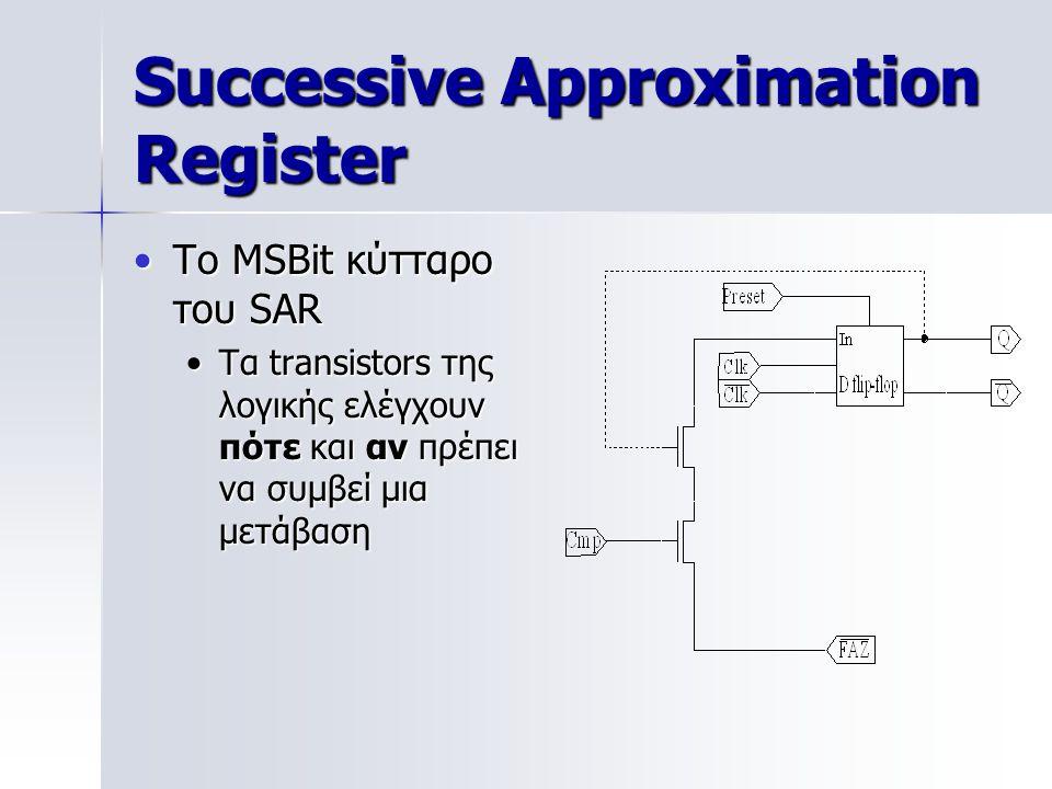 Successive Approximation Register