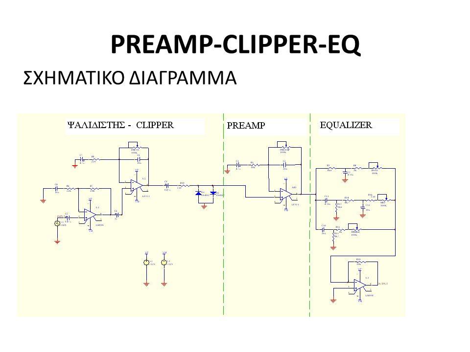 PREAMP-CLIPPER-EQ ΣΧΗΜΑΤΙΚΟ ΔΙΑΓΡΑΜΜΑ