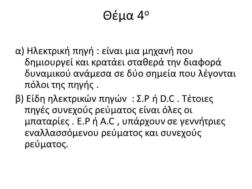 Θέμα 4ο