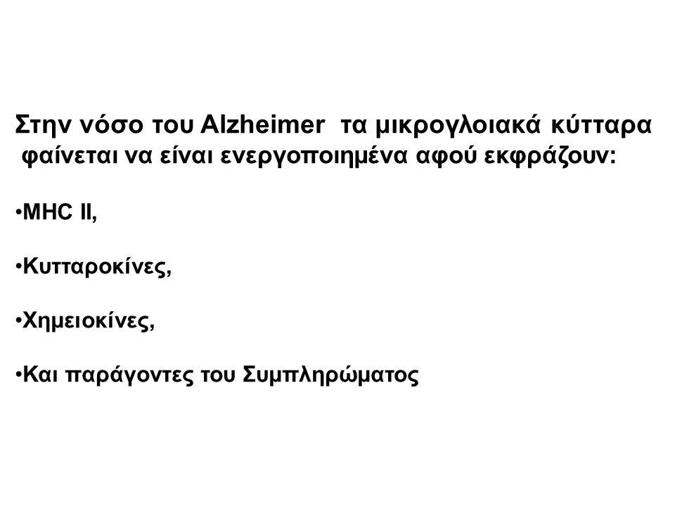 Στην νόσο του Alzheimer τα μικρογλοιακά κύτταρα