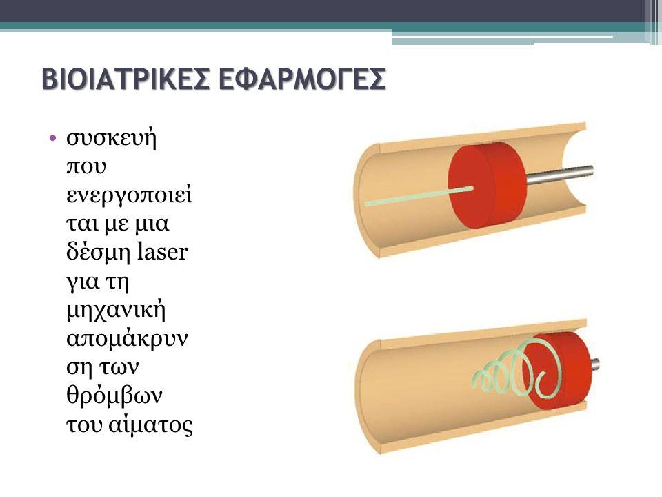 ΒΙΟΙΑΤΡΙΚΕΣ ΕΦΑΡΜΟΓΕΣ