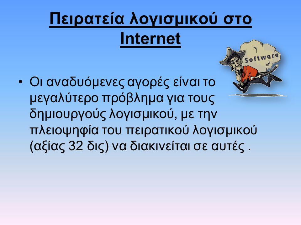Πειρατεία λογισμικού στο Internet