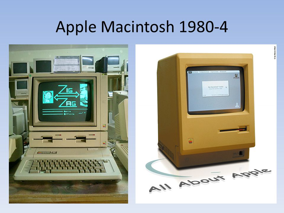 Apple Macintosh 1980-4